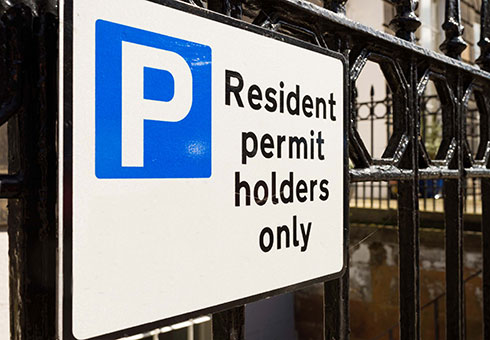 Apply for a resident parking permit