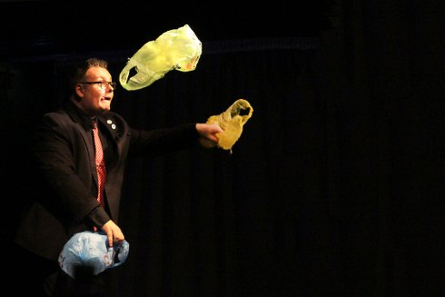 Comedy magician and South Tyneside International Magic Festival compere Mark James
