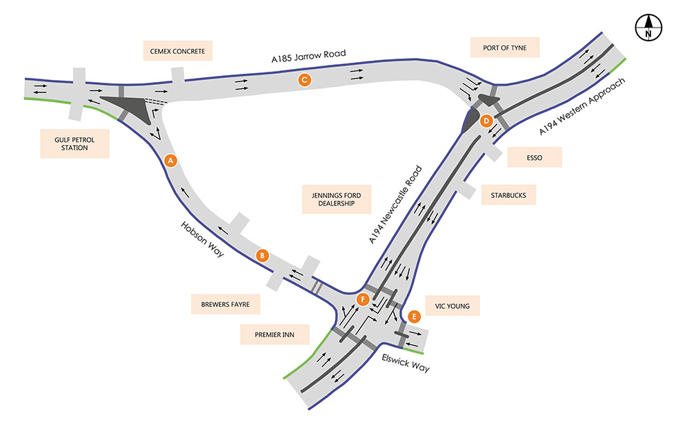 Arches junction proposed layout