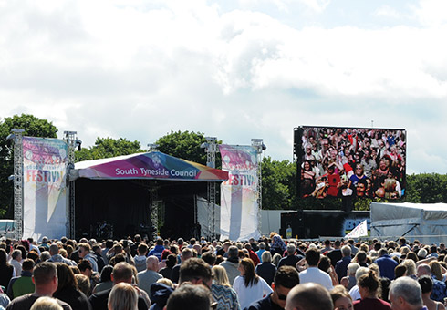 Advertise at the South Tyneside Festival