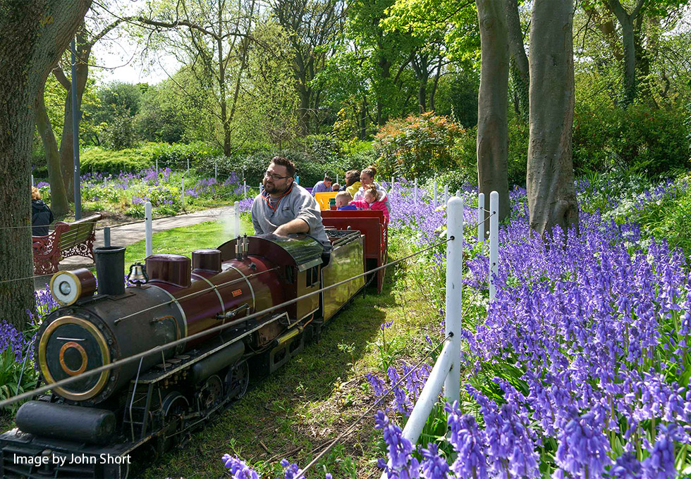 South Marine Park train (copyright John Short)