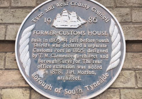 Blue Plaques in South Tyneside