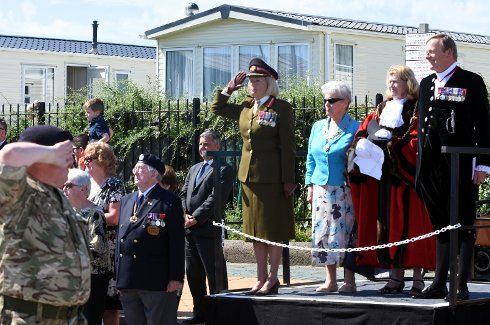 Paying Tribute to Armed Forces in South Tyneside