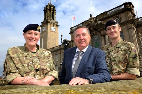 Celebrating Reservists in South Tyneside