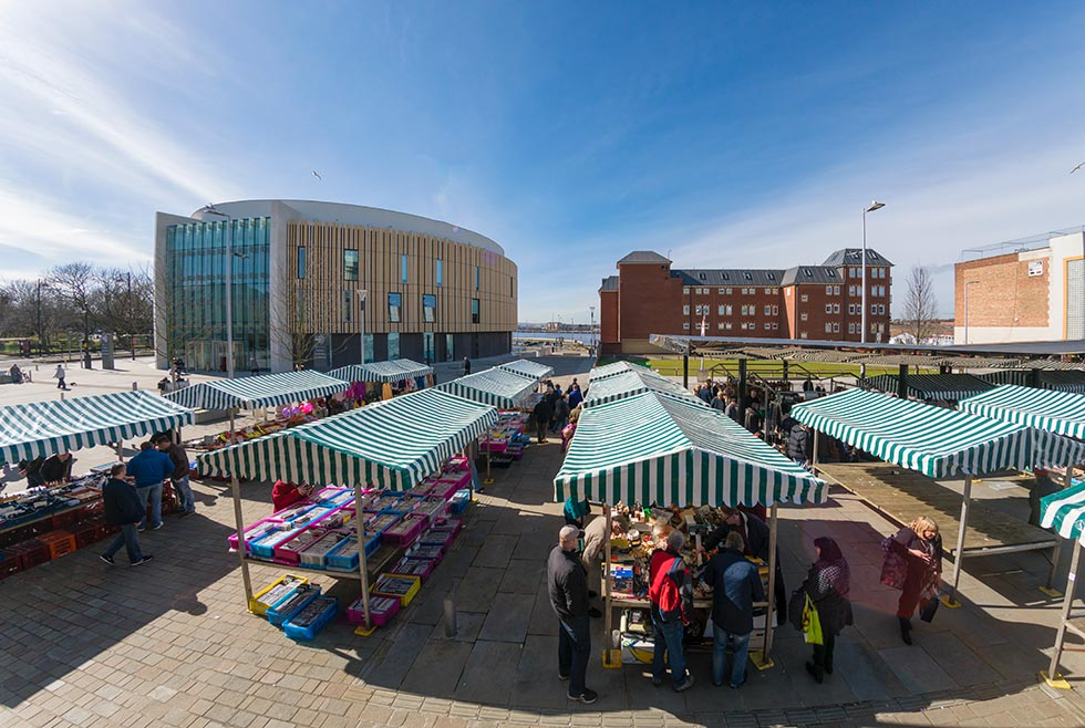 South Shields Market Place 1