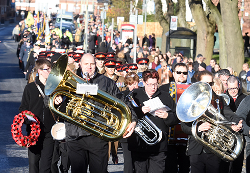 Remembrance Sunday 2017 South Shields (2)