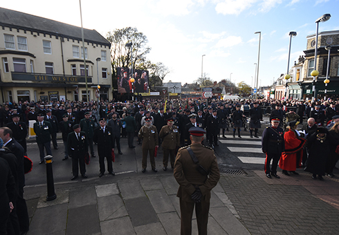 Remembrance Sunday 2017 South Shields (5)