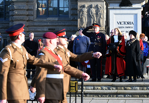 Remembrance Sunday 2017 South Shields (9)