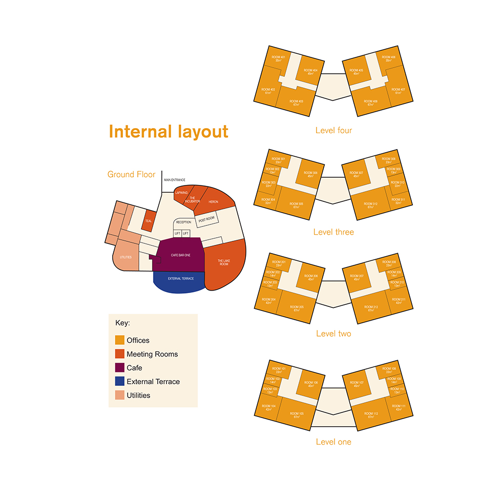 The Quadrus Centre floorplan 2