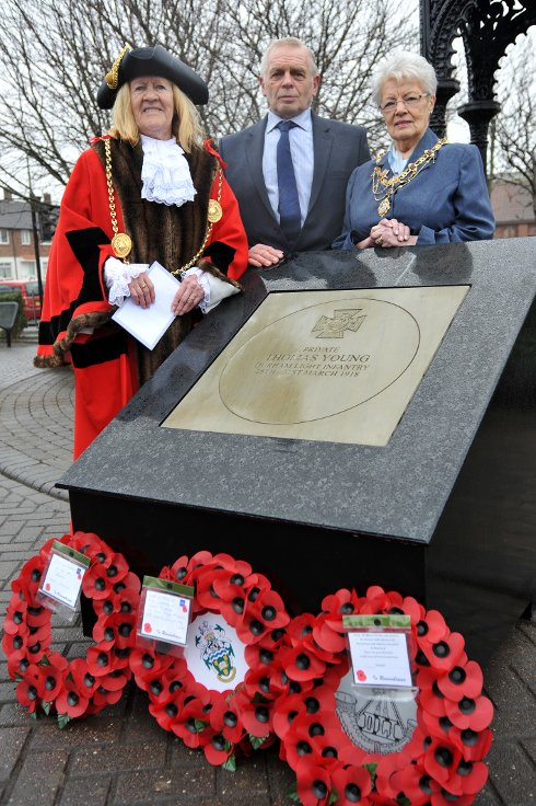 New Memorial Honours Private Thomas Young