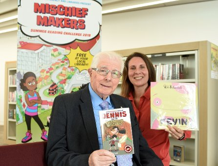 Making Mischief at Libraries this Summer