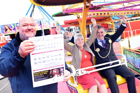 Special Fairground Offer to Boost Good Causes