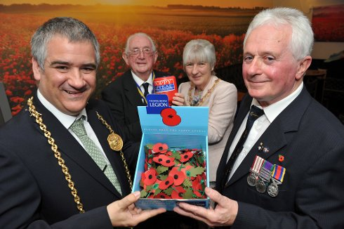 Poppy Appeal Launched in South Tyneside