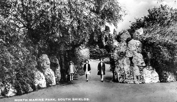 Historic view of Grotto