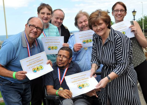 Going the distance for caring scheme