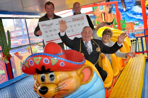 fantastic fairground offer to raise funds for charity