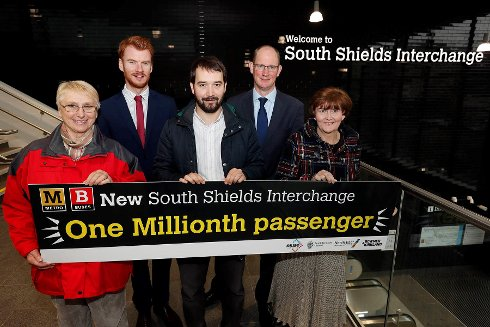South Shields Transport Interchange Welcomes a Million Passengers