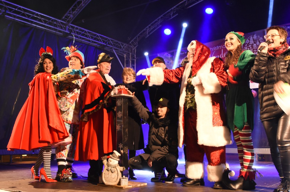 South Shields Christmas Lights Switch On 2019b
