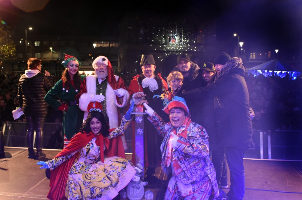 South Shields Christmas Lights Switch On 2019c