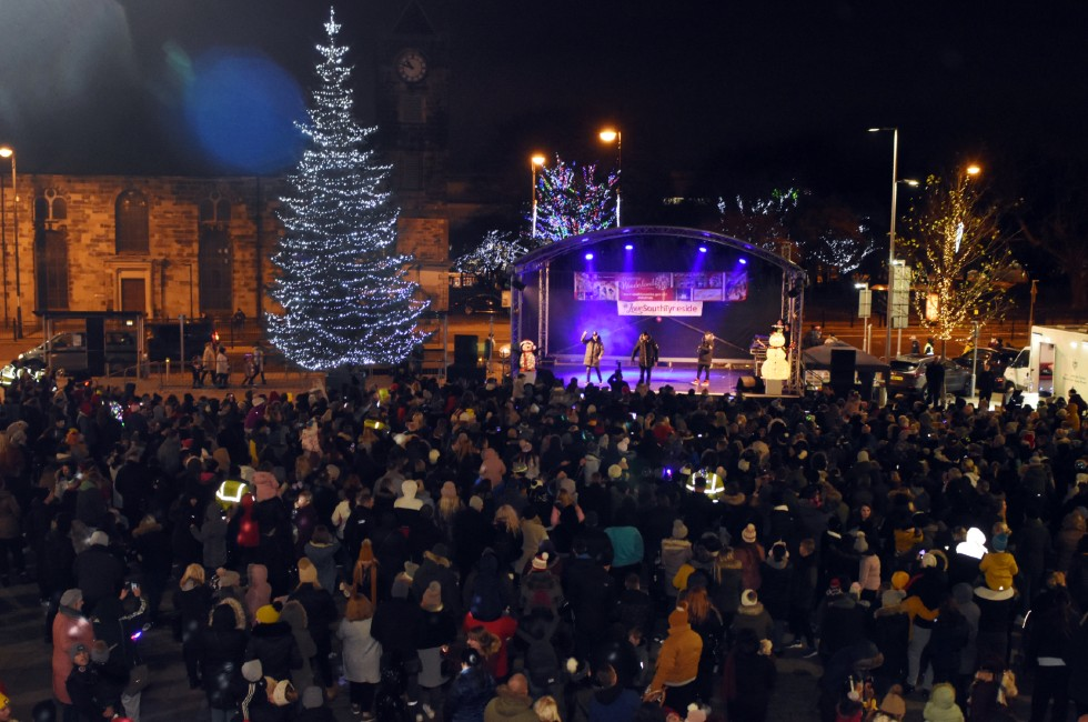South Shields Christmas Lights Switch On 2019d