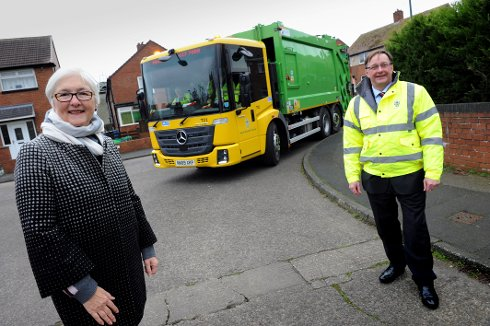 Greener bin lorries are far from rubbish