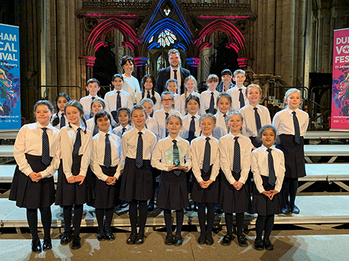 Hadrian School Primary Choir
