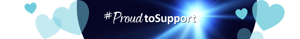 #ProudToSupport banner
