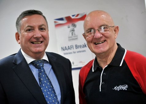 Veterans Stay Connected in South Tyneside