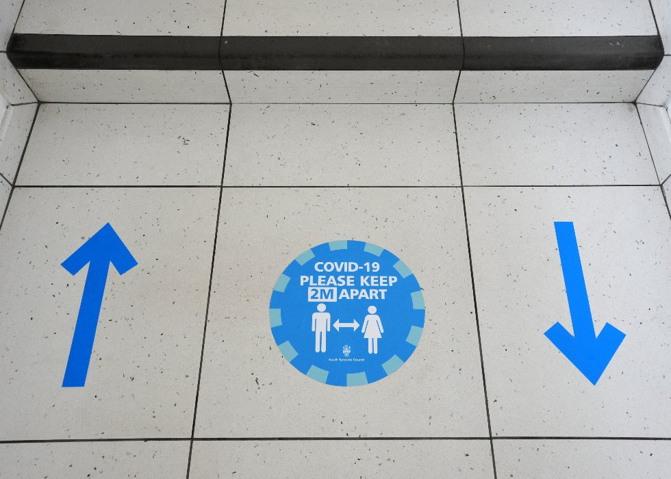 Haven Point floor signs