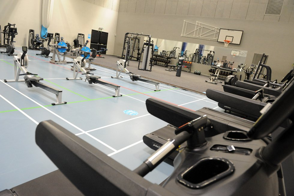 Hebburn Central gym (in sports hall)