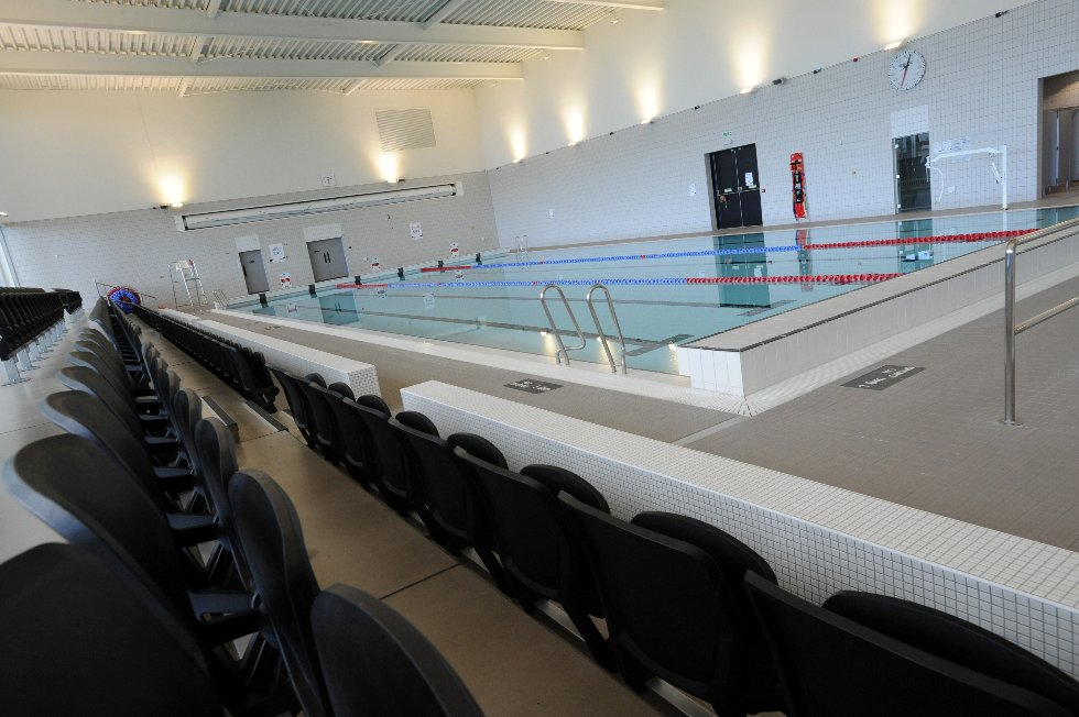 Hebburn Central main pool from viewing area