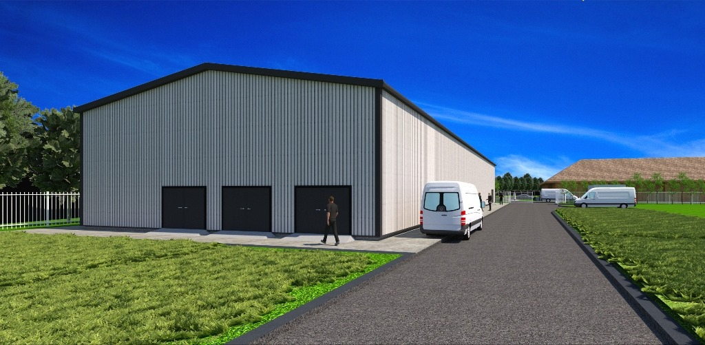 Viking Energy Network - An artist's impression of the new energy centre