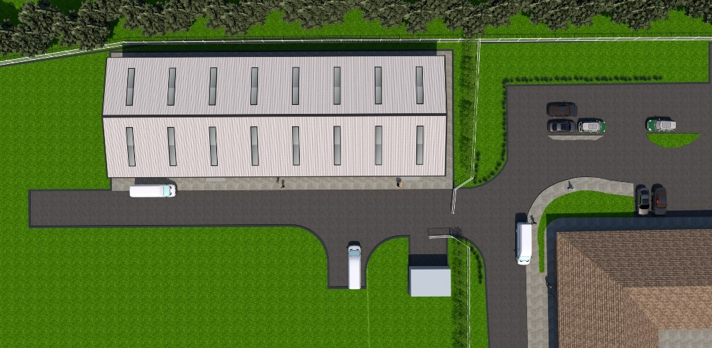 Viking Energy Network - An artist's impression of the new energy centre2
