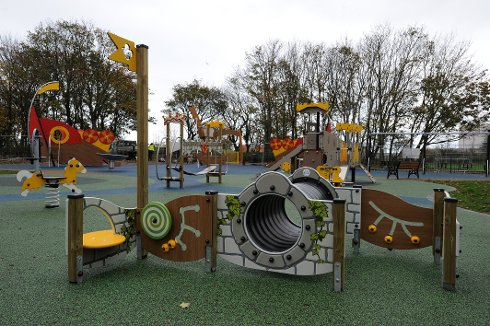 Fun Play and Fitness Spaces Open at Historic Park