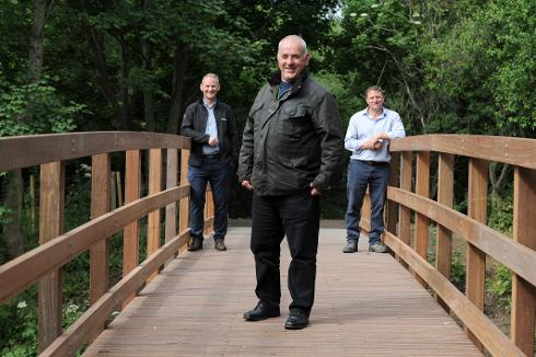 Walking Route Reinstated with Bridge Works Complete