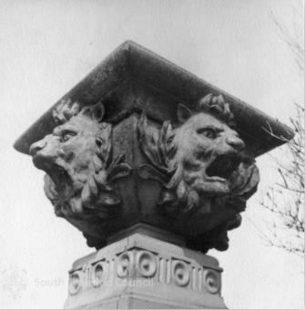 Pride in Park Restoration with Installation of Lions' Heads