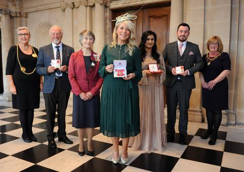 Special Honours Presented for Outstanding Services